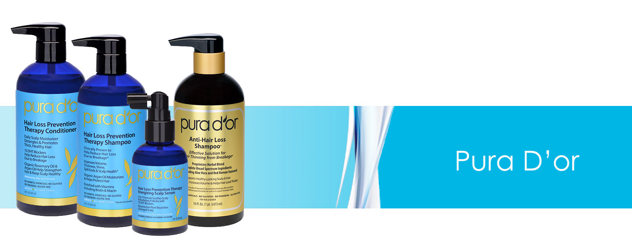Hair Growth Products - Pura D'or